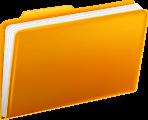 Yellow Folders PNG PNG Clip art