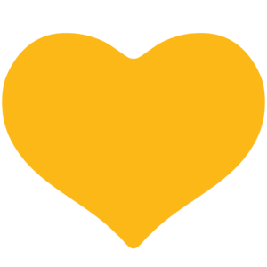 Yellow Heart PNG Clipart PNG Clip art