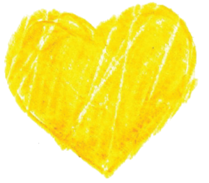 Yellow Heart PNG Pic PNG Clip art