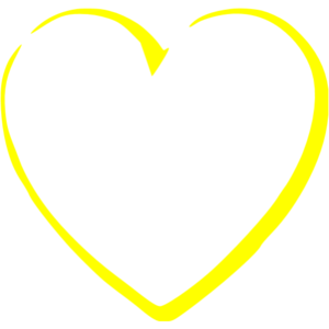 Yellow Heart PNG Transparent Image PNG Clip art