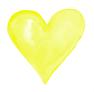 Yellow Heart Transparent PNG PNG Clip art