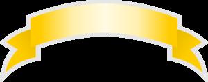 Yellow Ribbon PNG Pic PNG Clip art