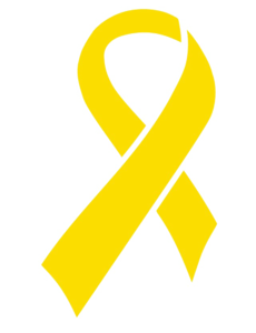 Yellow Ribbon PNG Picture PNG clipart