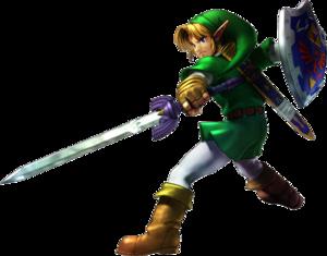 Zelda Link Transparent Background PNG Clip art