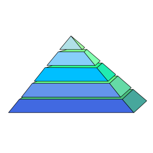 Pyramid icon png