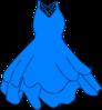 Light Blue Dress icon png