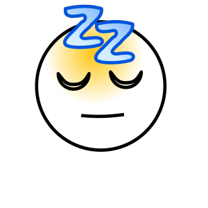 Snoring Sleeping Zz Smiley icon png