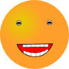 Laughing Smiley icon png