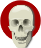 Cute Skull icon png