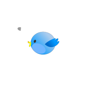 Twitter Fat Bird icon png