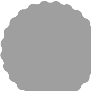 Bumpy Circle Open icon png