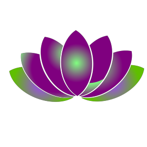 Blue Lotus Flower icon png
