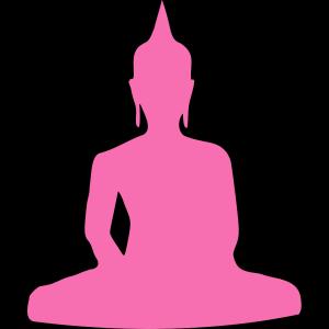 Pink Buddha 4 icon png