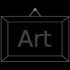 Art Nav icon png