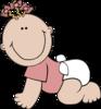 Baby Girl Lying icon png