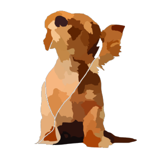 Tom Waiting Dog Lineart icon png