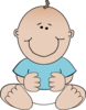 Baby Boy Sitting icon png