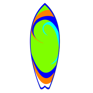 Surfboard icon png