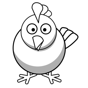 Chicken icon png