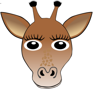 Giraffe Face icon png