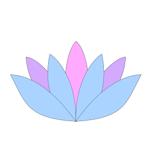 Lavender Lotus Flower icon png