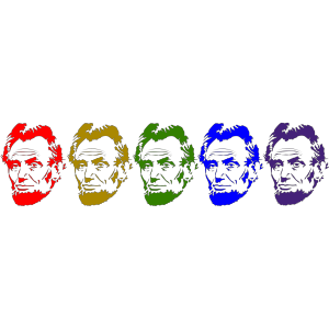 Rainbow Lincoln icon png