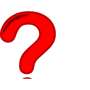 Inverted Question Mark icon png
