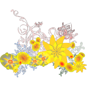 Flourishing Flowers icon png