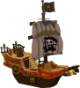 Pirate Ship icon png