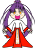 Purple Girl icon png