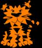 B W Tiger icon png