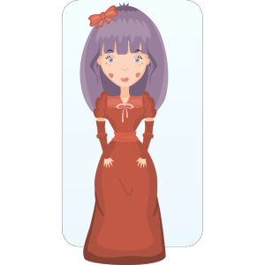 Victorian Girl icon png