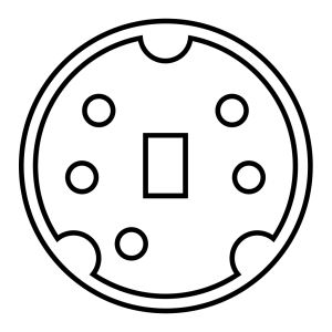 Minidin Diagram icon png
