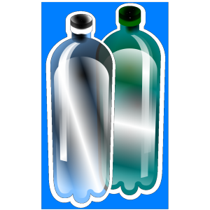 Litter Plastic Bottles icon png