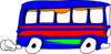 Blue Bus design