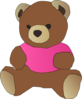 Stylized Teddy Bear icon png