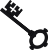 Grey Key Animation icon png