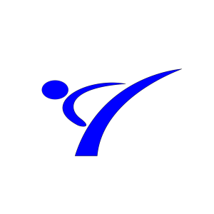 Karate Blue icon png