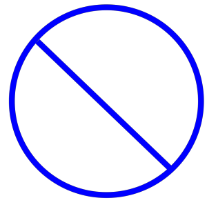 Transparent Blue Circle icon png