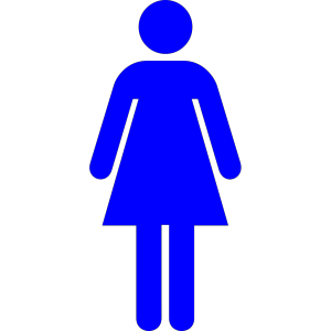 Blue Women design