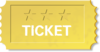 Theater Ticket icon png