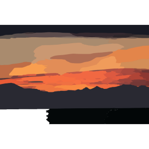 Sunset Gradient icon png