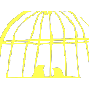 Yellow Love Birds In Birdcage icon png