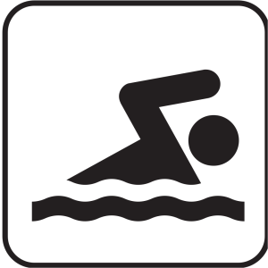 Swimming icon png