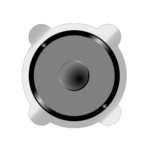 Cartoon Speaker icon png