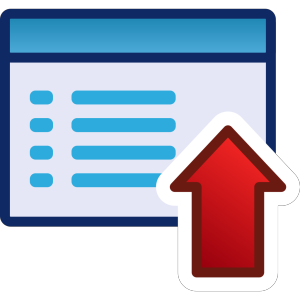 Red Menu Icon Set Up icon png