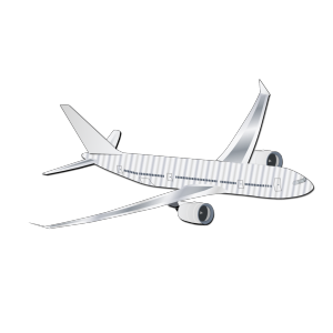 Plane Silhouet icon png