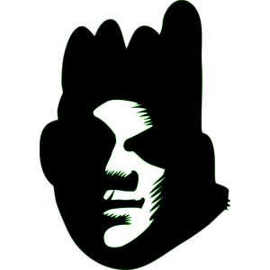 Black Face icon png