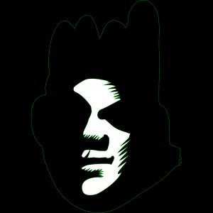 Black Face design