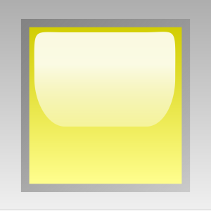 Led Square Yellow icon png
